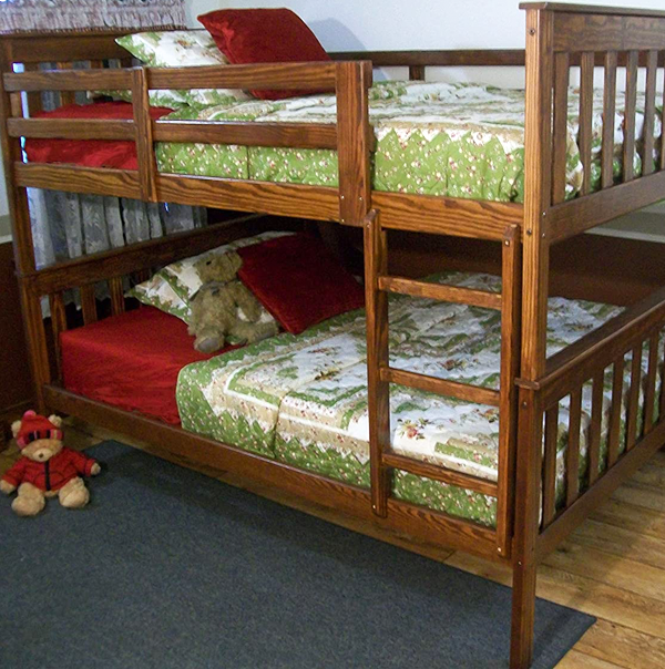 Bunk Beds need to be dissembled for packing