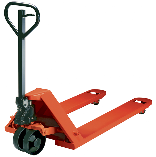 A pallet jack like this is used daily for commercial moving