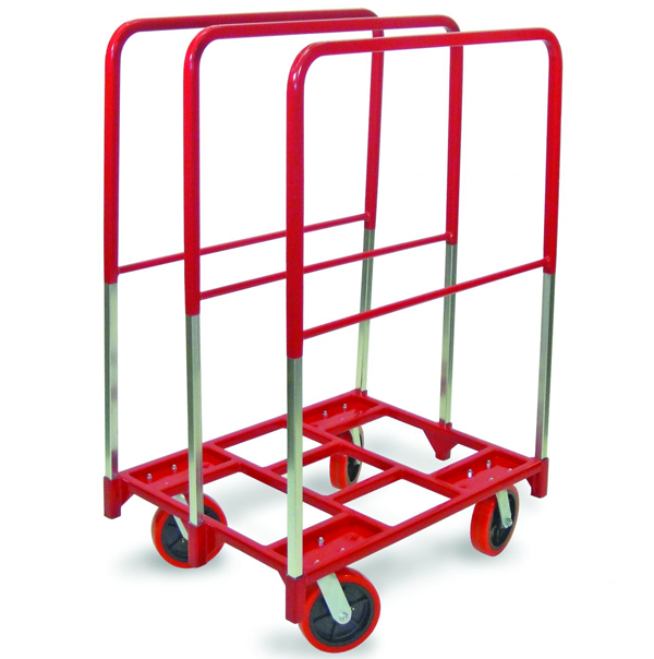 Movers Equipment shown is a Partition Cart used for office cubicles