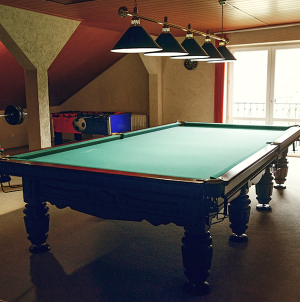 Pool Table include in site survey moving job walk