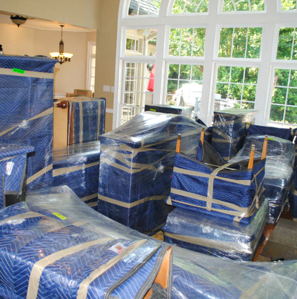 San Jose Silicon Valley Movers complete packing at household
