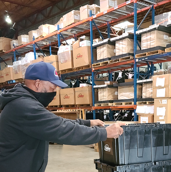 San Jose Moving Company with business storage space